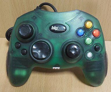 Bigben XBOX Joypad Gamepad Controller für Microsoft XBOX grün* skz05