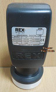 Rex digital Universal Single LNB 40mm digital 0,3 dB Low High Band* so898