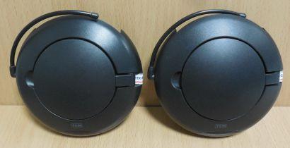 TCM 204470 Funkübertragungsset Sender Empfänger schwarz* so907