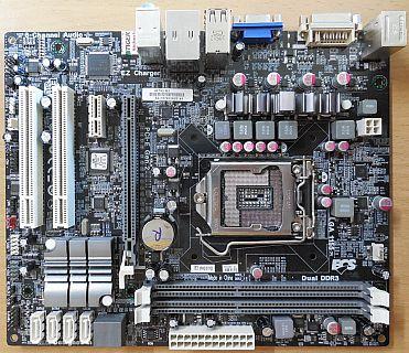 ECS Elitegroup H67H2-M3 V1.0 Mainboard +Blende Intel H67 Sockel 1155 DDR3* m963