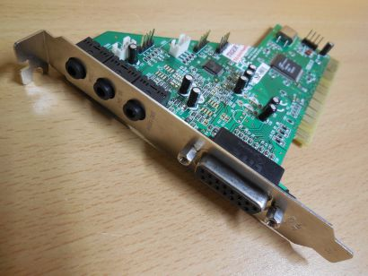 Forte Media FM801-AZ SP-801 Ver 2.3 DOS SoundBlaster PCI Audio Soundkarte* s34