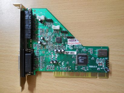 Forte Media SP-801 Ver 2.3 FM801-AZ Forte Media PCI Soundkarte s34