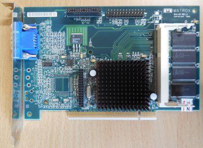 Matrox G2+ MSDP 8BI 20 Millennium G200 8MB 64Bit VGA Retro PCI Grafikkarte* g437