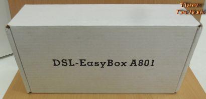 SMC Easy Box A 801 DSL Router ADSL ADSL2+ 3xTAE WLAN ISDN USB 4x LAN* nw545