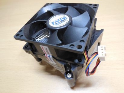 AVC LGA Sockel 775 CPU Kühler 80mm Lüfter Alu+Kupfer für Fujitsu Scaleo P2*ck328