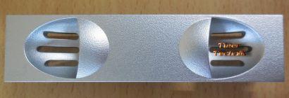 Chieftec Floppy Kartenleserplatz Abdeckung blende Silber CT-B01F-FDDF Silver* pz623