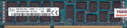 SK Hynix HMT31GR7CFR4A-PB T8 AF PC3L-12800R 8GB DDR3 1600MHz Server Reg RAM*r746