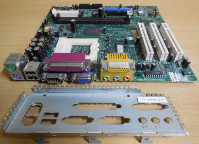 HP Vectra XE310 Mainboard Sockel 370 P5865-60001 H-1 119920 Cognac 20010412*m974