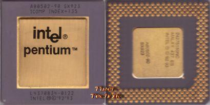 CPU Prozessor Intel Pentium A80502-90 SX923 90MHz Goldcap Sockel 7 FDIV Bug*c606