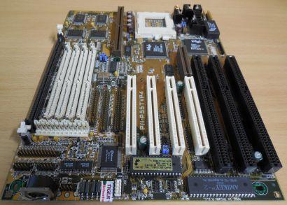 Asus P/I-P55TVP4 Retro AT Mainboard Sockel 7 EDO SD RAM 3x ISA PCI IDE USB* m983