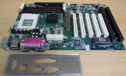 QDI Advance 9 V3.0(S3.1) Mainboard +Blende Sockel 370 P6V693 A9 2x ISA* m984
