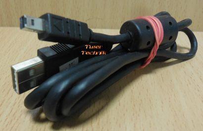 Nikon UC-E3 USB Kabel schwarz 1,5m für Nikon Coolpix 2500 3500 Kamera* pz825