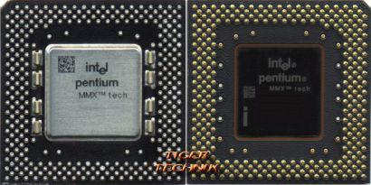 CPU Prozessor Intel Pentium MMX SL27S 233 MHz FSB 66 Sockel 7 Pentium I 1* c607