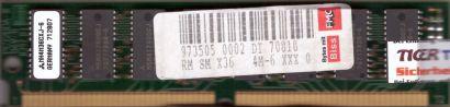 Mitsubishi 16MB FPM RAM PS 2 72 pin SIMM Parity MH4M36CXJ-6 Arbeitsspeicher*r751