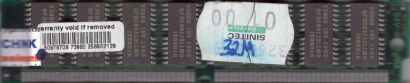 32MB EDO RAM PS 2 72 pin non-Parity Hyundai GM71C17403CJ6 Arbeitsspeicher* r754