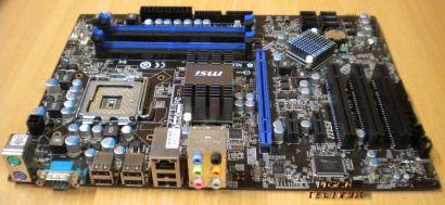 MSI P43T-C51 MS-7519 Ver. 1.4 Mainboard * Sockel 775 Quad-Core Ready *m97