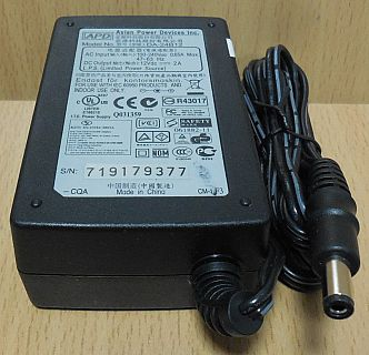 APD Asian Power Devices Inc. DA-24B12 AC DC Adapter 12V 2A Netzteil* nt895