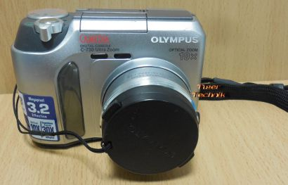 Olympus Camedia C-730 Ultra Zoom Digital Camera 3.2Megapixel 10X Optical* so912
