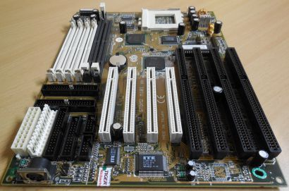 Chaintech 5TDM2 M101 Retro AT Mainboard Sockel 7 EDO SD RAM 4x ISA IDE USB* m986