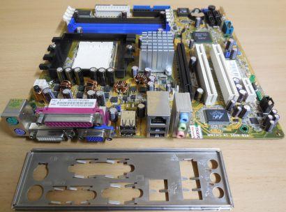 Asus A8N-VM S Rev 1.20G Mainboard +Blende AMD Sockel 939 VGA DVI SATA DDR* m987