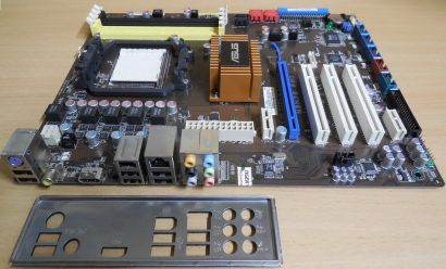 Asus M3N78 PRO Rev 1.01G Mainboard +Blende AMD Sockel AM2+ HDMI VGA DDR2* m992