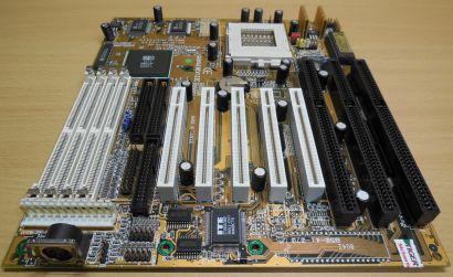 Gigabyte GA-586S Rev 1.22C Retro AT Mainboard Sockel 7 EDO RAM 3x ISA PCI* m993
