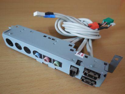 HP Pavilion Compaq 1234000600K Rev A USB Audio FireWire Front IO Panel* pz836