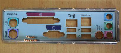 HP 5188-3246 MS-7184 Mainboard Blende- IO-Shield- Backplate* mbb08