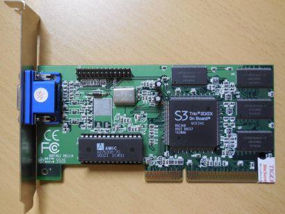 ATI Rage Pro Turbo AGP PN: 109-52800-00 Grafikkarte AGP 2x 8MB VGA  g50
