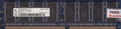 Qimonda HYS64D64300EU-5-D PC-3200 512MB DDR1 400MHz CL3 Arbeitsspeicher RAM*r780