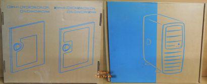 Chieftec SPX-02-BL Gehäuse Tür Seitentür Blau mit Glas & Cooler Master FAN*pz844