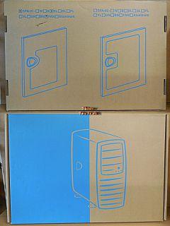 Chieftec Big Tower SPA-01-BL Gehäuse Tür Seitentür Blau mit Glas & FAN* pz846