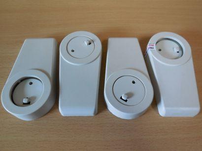 Chieftec Gehäusefüße Set bestehend aus 4 Stück Beige 90 Grad drehbar* pz847