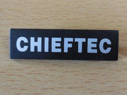 CHIEFTEC Front Badge Abzeichen Marke für Gehäusefront Teil von Frontblende*pz850