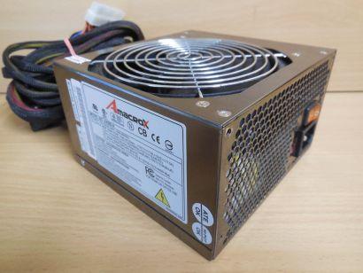 Amacrox Warrior AX500-A 460Watt Computer PC Netzteil ATX SATA Molex PCIe* nt1531