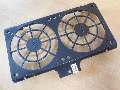 Chieftec Gehäuse Käfig Halterung Rahmen Caddy 2x 92 mm FAN Lüfter Schwarz* pz857
