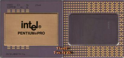 CPU Prozessor Intel Pentium PRO Gold SL22T 200 MHz Sockel 8 KB80521EX200* c617