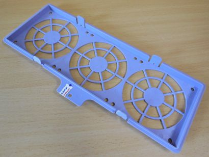 Chieftec Gehäuse Käfig Halterung Rahmen Caddy für 3x 92 mm FAN Lüfter Lila*pz858