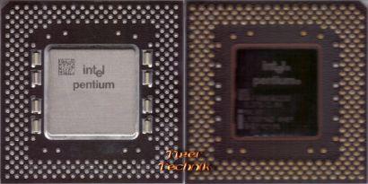 CPU Prozessor Intel Pentium SY037 166 MHz FSB 66 Sockel 7 Pentium I 1* c619