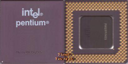 CPU Prozessor Intel Pentium SY016 166 MHz FSB 66 Sockel 7 Pentium I 1* c621