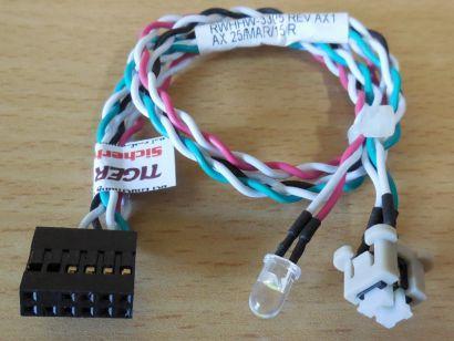 Fujitsu Esprimo MI5W P756 Power Schalter T26139-Y4001-V221 A3C40159274,A* pz861