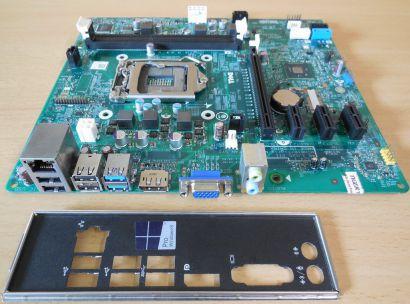 Dell Optiplex 3020 Mainboard 0VHWTR Rev A01 Sockel 1150 Intel MIH81R Tigris*m999