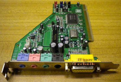 Aztech Azfin AZF3328 PCI168 PCI Soundkarte* s33