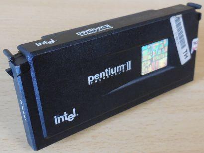 CPU Prozessor Intel Pentium II SL2QB 266 MHz FSB66 512KB Slot 1 Pentium 2* c973