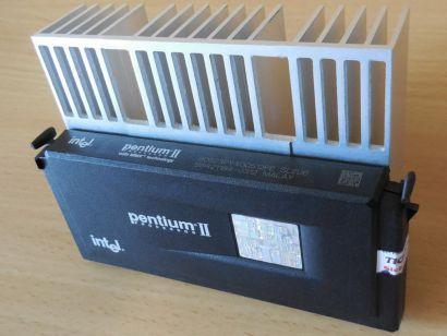 CPU Prozessor Intel Pentium II SL2U6 400 MHz FSB100 512KB Slot 1 Pentium 2* c977