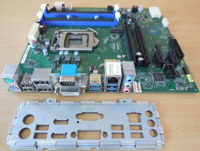 Fujitsu Esprimo P756 D3401-A11 GS2 Mainboard Intel Q150 Sockel 1151 DDR4* m1000