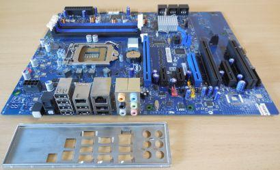 Intel DP55WG Rev E57269 404 Mainboard + Blende Sockel 1156 DDR3 IEEE1394* m1002