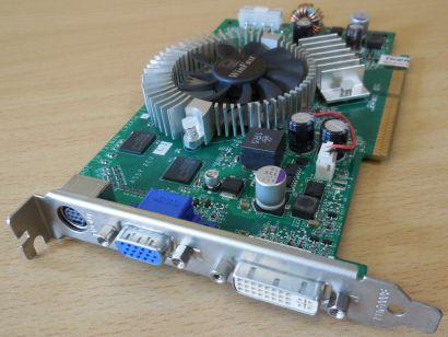 Leadtek WinFast A7600 GS TDH LR2A5H GeForce 7600GS AGP 256MB 128Bit DVI VGA*g445