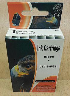 Tintenpatrone für Canon BJC 3000 6000 S600 MPC 400 Pixma iP3000 Black MHD* dr13