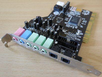 Terratec Aureon 5.1 Fun TTP8 Ver1.0 5.1 Kanäle 10063 PCI 32-64bit Soundkarte*s65